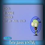 Типи даних в HTML