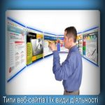 Типы веб-сайтов и их виды деятельности