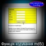 Як створити складний пароль за допомогою функції md5() в мові програмування PHP
